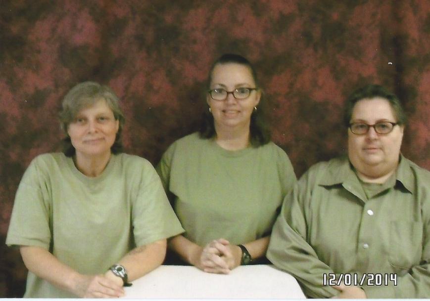 "Picture of Marius Mason, Lisa Montgomery and Kim (""Alexx"") Hutterer"