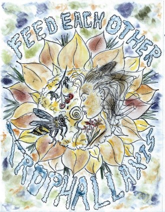 Illustration - bees